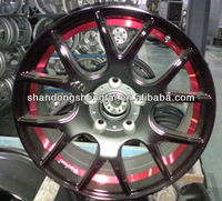car chrome alloy wheels