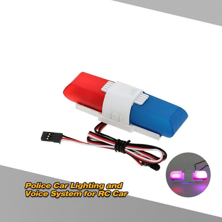 911013-Police Car Lighting and Voice System with 8 Kinds of Flashing Mode for RC Car-2_04.jpg