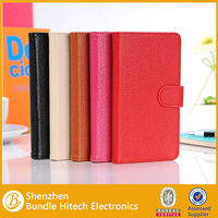 lichee genuine leather fip case for note 3 n9000