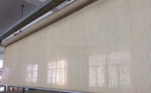 100% knitting hdpe fabric roller shade and sun screen