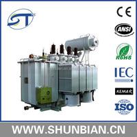 with conversator and radiator transformer oil tank 2000 kva 38.5kv to 10.5kv transformer price