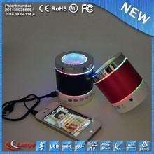 mini metal vibration stereo speaker subwoofer