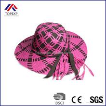 fashion handmade straw hats headwear