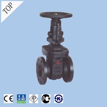 china acid resistant high quality KS standard cast iron 10k OS&Y flanged gate valve