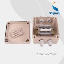 Saip IP65 ABS Customize abs control terminal block box terminal block enclosure