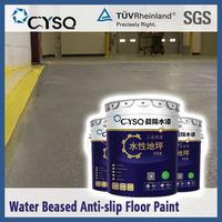 Water based epoxy anti slip floor paint