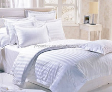 Made in China white polyester cotton bedding set