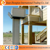 CE BV Approved 4m height home used wheelchair lift elevator easy operation