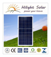 100w 18v Poly Solar Panel (solar Module,Pv Panel ) For Solar System with Tuv Iec Ce Cec Iso Inmetro