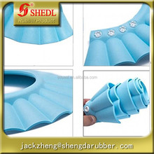 Ultra-soft, Good-elasticity Silicone Flexi Bathing Cap Hat(Blue)