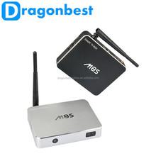 M8S Bluetooth Quad Core Rk3188 16 Gb Android 4.4 Smart Tv Box With Remote Control Eu Standard Black
