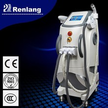 Elight rf ipl macchina di rimozione dei capelli del laser/multifunzione elight nd yag laser radio frequenza macchina prezzi