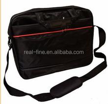 "New Cheap Black Stylish Laptop Notebook 15"" Messenger Bag with Shoulder Strap"