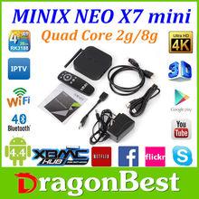 Minix neo X7 16GB Android 4.2 RK3188 Quad Core 1.6GHz Bluetooth Minix neo x7 andriod tv box minix neo x7