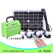 2012 Newest solar home light,DC solar powered system, with mobile phone charger,ideal for indoor and outdoor use