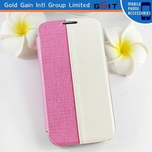Daul Color Flip Cover for Samsung for Galaxy S4 I9500, phone Case for Samsung S4