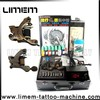 2015 Professional newest best sell tattoo kit,tattoo machine sets with two guns