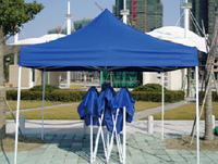 Printing aluminum / iron trade show folding tent, pop/easy up tent