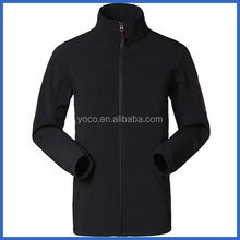 Black mens performance mountain skiing jackets