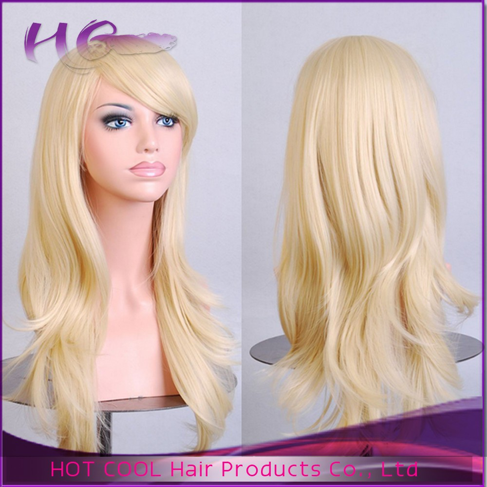 quality human hair wig colorful cheap wigs