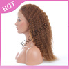 EXC Style Aliexpress China Manufacturer Brazilian Virgn Remy Human Hair Afro Kinky Curly Full Lace Wigs