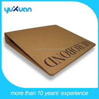 new design a4 size handmade paper file folder with 4 rings binder