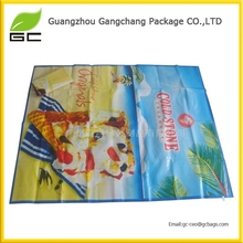 fashionable polyester foldable printed beach mat