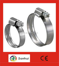 galvanized steel rubber lined hose clamps with best quality and price