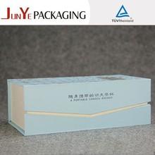 Alibaba china logo print hard cardboard packaging custom elegant recycled velvet box