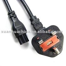 uk plug to clover leaf power cord