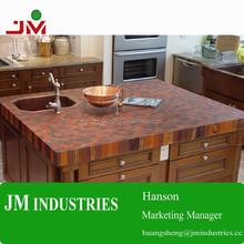 Walnut end grain bathroom butcher block counter tops/island tops/kitchen cabinet table tops