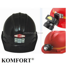 Coral mine mining safety helmet lamp hard hat with LED light