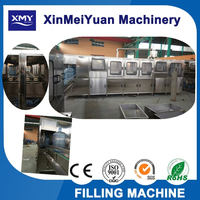 3-5 gallon washing filling capping 3 in 1 filling machine