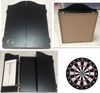 Quality Bristle Dart Board with Cabinet, Deluxe Cabinet and Darts