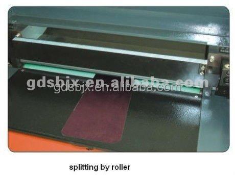 leather skiving machine price
