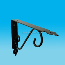 Marble support frame, wall hanging bracket bookcase partition layer board shelf place support