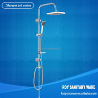 Hot sale White shower waterfalls shower mixer Water valve set