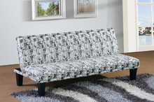 New popular printed fabrc sofa bed