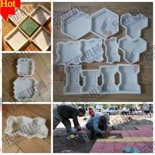 Good Quality moulding silicone rubber for concrete Paver interlocking tiles moulds