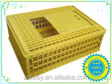 plastic chicken cage for transport with truck