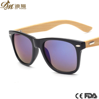 Fashion and vintage wood or bamboo sunglasses with your logo