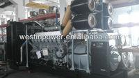 2250KVA 1800KW Standby Power Diesel Generator Set Power by Mitsubishi S16R-PTAA2 engine
