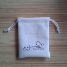 Top grade Custom promotional gift pouch with Drawstring for gift shopping sales
