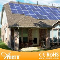 Intelligent control off grid 3KW home use portable solar power system