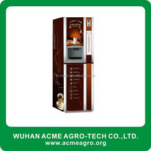 Automatic Coin operated coffee coin operated coffee vending machine for 3 hot and 3 chill drinks with loud speaker( AF302)
