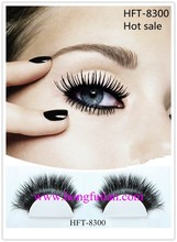 Popular mink eyelashes OEM in red cherry eyelashes wholesale 8300
