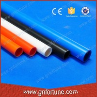 Decorative colored uv resistant electric pvc pipe