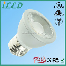 Cold forging Aluminum Warm White Dimmable 2700k E27 led COB recessed par16 medium base E26