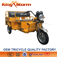 2000w passenger electrical tricycle for adults