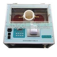 Rigidez dieléctrica prueba 0 ~ 80KV transformador de aceite del aislamiento tester